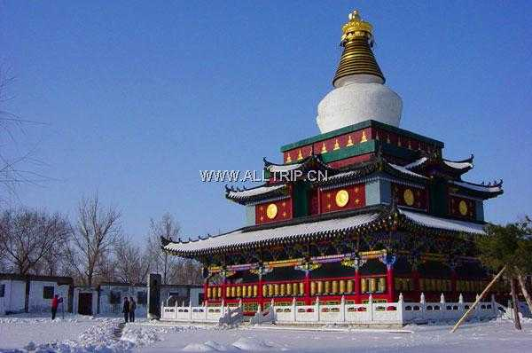 Le Grand Temple - Chinese tourism scenic spots
