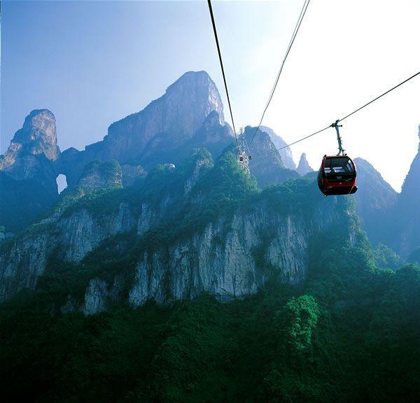 北京到天门山、张家界、凤凰古城单飞单卧六日游