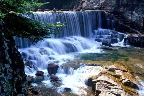 北京到八里沟 北方水世界 太行山水两日游