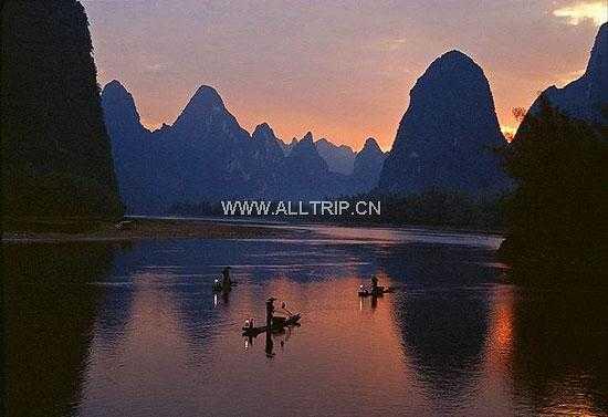 春节宁波出发到桂林、漓江、阳朔双飞纯玩4日游T杭州进出
