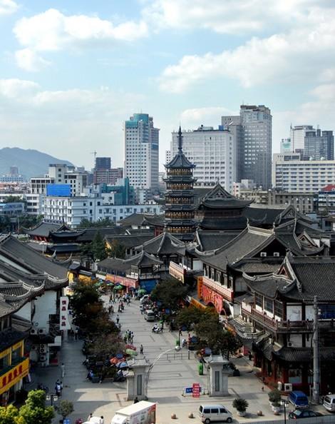 北京到华东旅游:四市扬州鼋头渚、虎丘留园西溪湿地双卧6日旅游