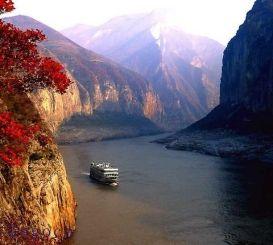 长江三峡五星游轮美国维多利亚凯娅号 告别长江重庆-上海-全览