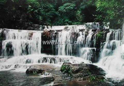 南宁出发到横县九龙瀑布、西津电厂经典线路二日游|广西二日游线路及价格