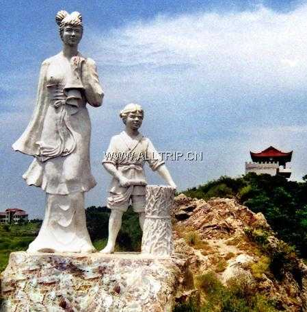 中国居民平衡膳食宝塔雕塑