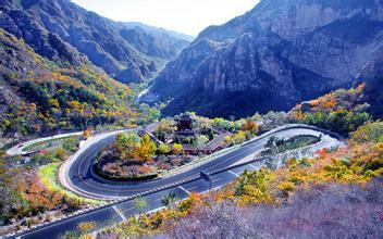 平谷旅游 飞龙谷黄松峪森林公园 四座楼赏花休闲汽车二日游
