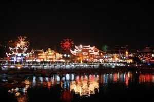 郑州出发到华东五市+周庄+西溪+鼋头樱花七日游