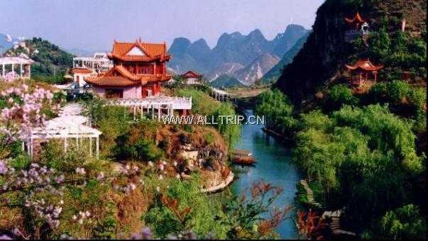 南京出发广西、贵州、云南三省联游.樱花六天五晚游