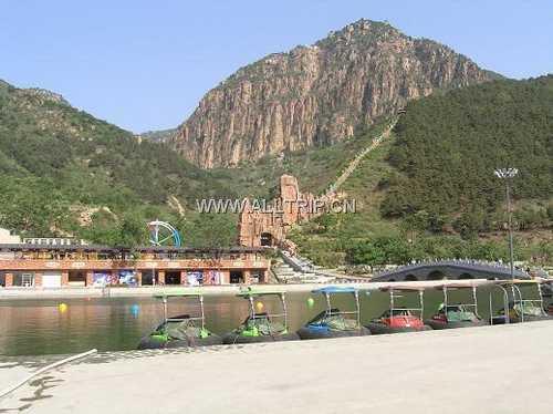 平谷旅游 京郊平谷石林峡赏花观景 丫髻山登山汽车一日游