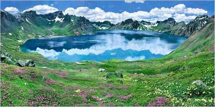 长白山天池