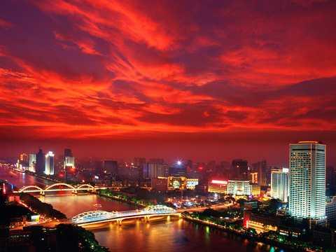 武汉到广州旅游岭南新城、香江动物园、长隆欢乐世界高铁3日游