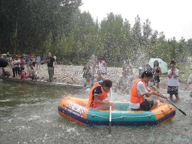 宝天曼峡谷漂流+白马潭二日游