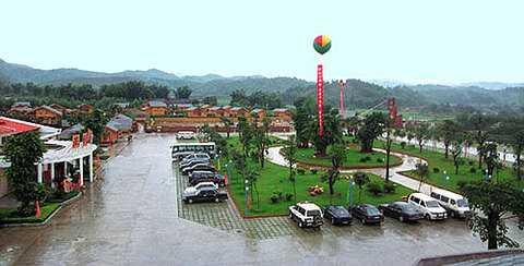 东莞去惠州龙门温泉、香溪古堡、白水寨两天游