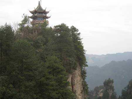 北京到天门山、张家界、凤凰古城双卧六日游