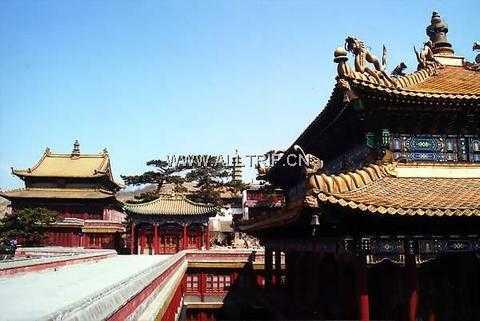 北京到承德避暑山庄  普陀宗乘之庙 须弥福寿之庙汽车二日游