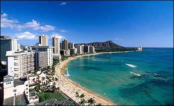 十一旅游  杭州出发美国夏威夷6日半自助游