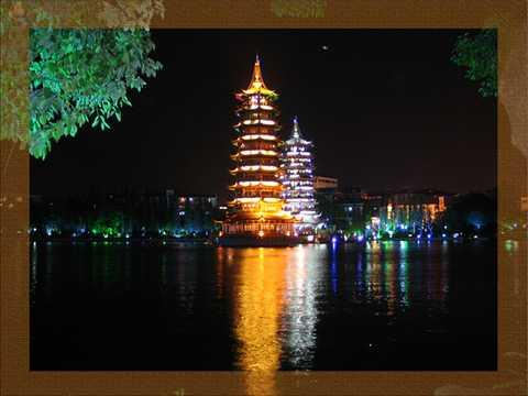 上海到桂林三山一洞一公园 大漓江 龙脊梯田、龙胜温泉四星纯玩双飞五日游