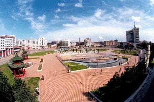 广场花园图片/照片_图片_广场花园_景点_鹤岗旅游