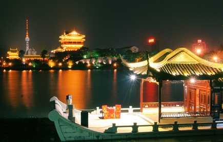 端午节青岛到溱湖湿地 古镇 李中水上公园 夜游凤城河二日游