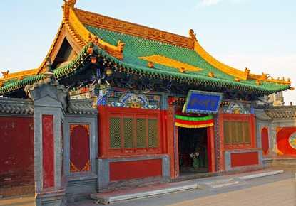 北京到内蒙古希拉穆仁大草原、席力图召、博物馆旅游双卧4日