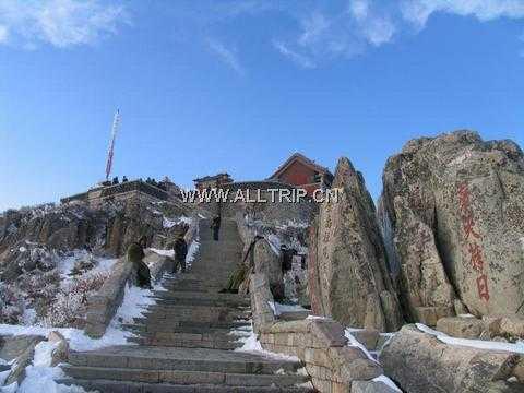 北京至山东旅游路线:北京到山东旅游:泰山