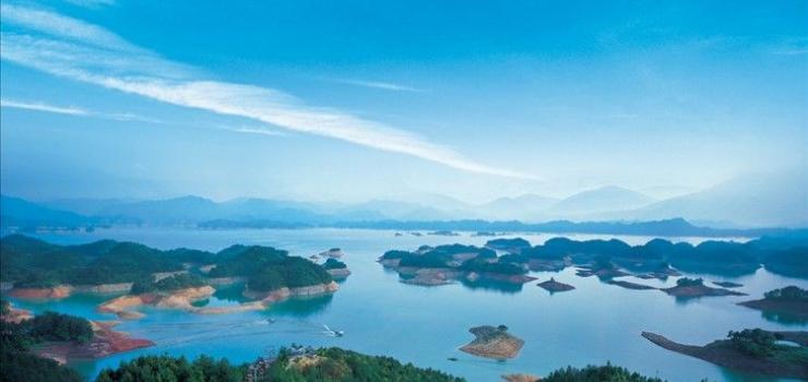 (含千岛湖船票)淳安千岛湖、垂云通天河、百岁峡漂流激情二日游