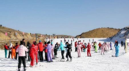 【九城宫滑雪场】鄂尔多斯九城宫滑雪场门票价格