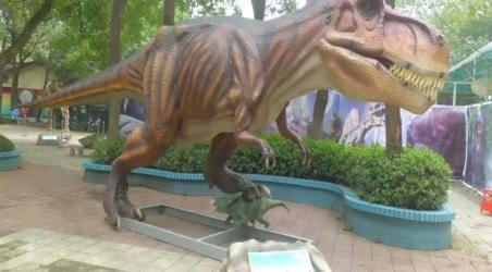 3d魔幻互动艺术与恐龙科普乐园