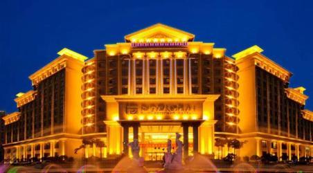 重庆海宇温泉大酒店建筑采取燕翼形设计,欧式风格,庄重大方,魅力非凡.