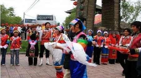 青海土族风情园民族环境    青海省互助县