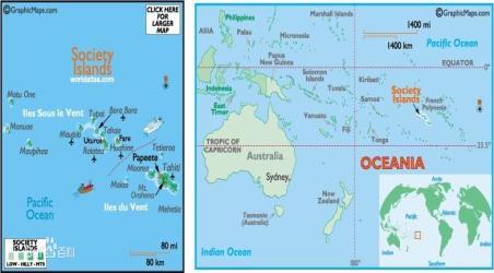 塔西提岛地图