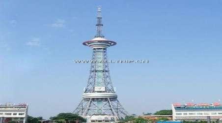 钢结构带旅游的多功能综合电视塔
