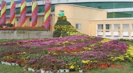 花博園具備花木展區,市場交易,生態旅游和科研開發等綜合功能.