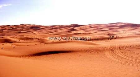 同程驴友这样评价库木塔格沙漠公园