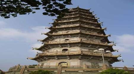 千佛塔寺位於广东省梅州市