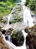 百花岭瀑布
