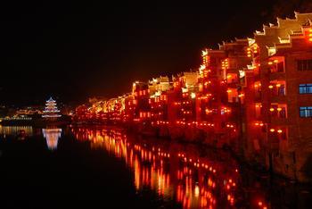贵州黔东南镇远古城