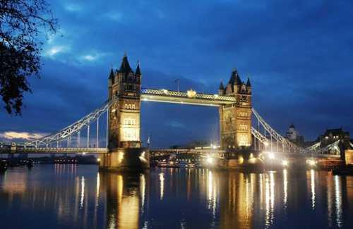 英国塔桥高清大图