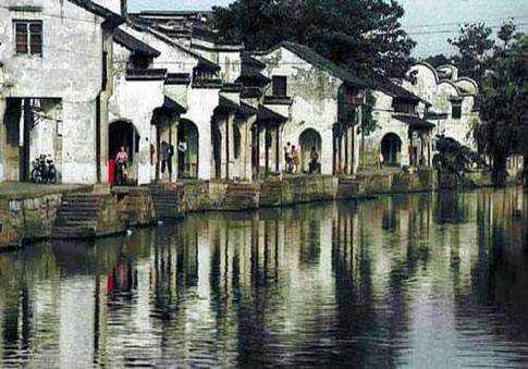 双林古镇 如水墨画般的秀美细致 图