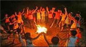 【深圳去惠州旅游线路】双月湾露营烧烤、出海捕鱼、篝火晚会二天